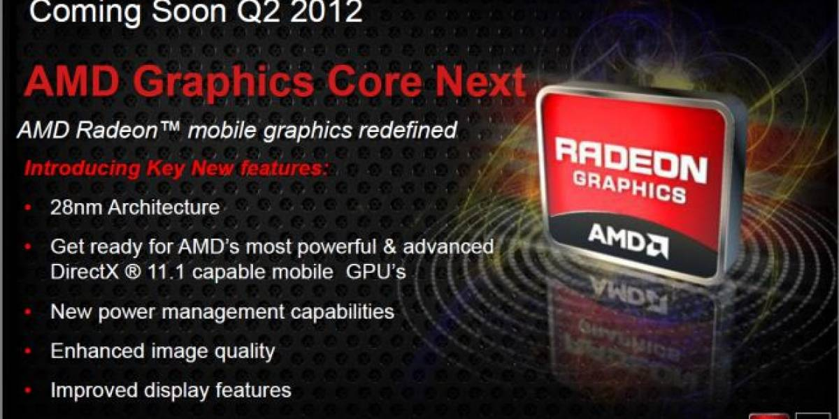 CES 2012: AMD Graphic Core Next para portátiles llega entre abril a junio