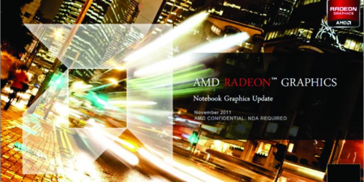 AMD lanza sus GPUs Radeon HD 7000M Series
