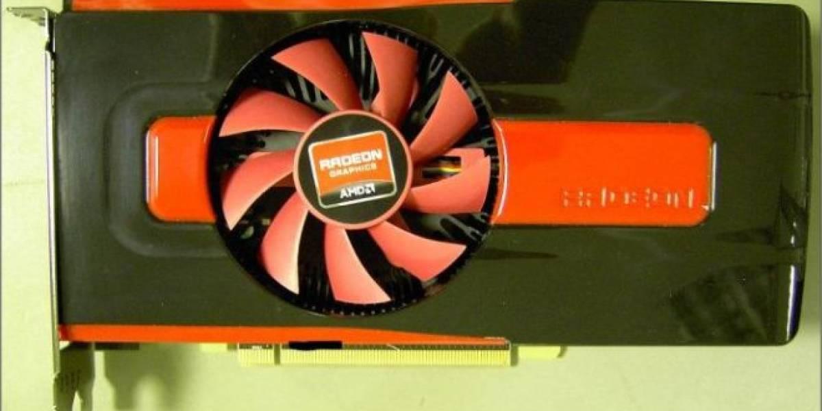 AMD Radeon HD 7770 posa para la cámara