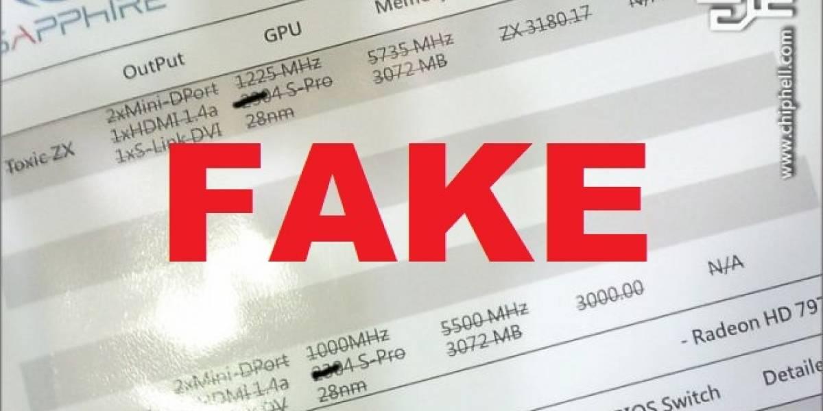 AMD: Tahiti XT no posee núcleos ocultos