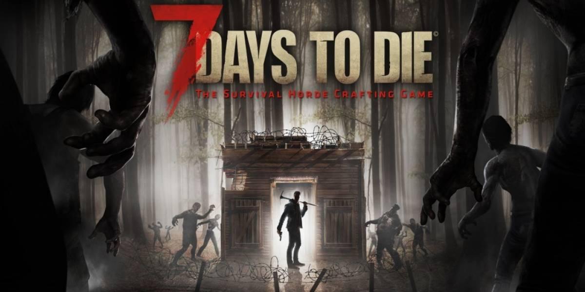7 Days to Die llega a las consolas y recibe tráiler de lanzamiento
