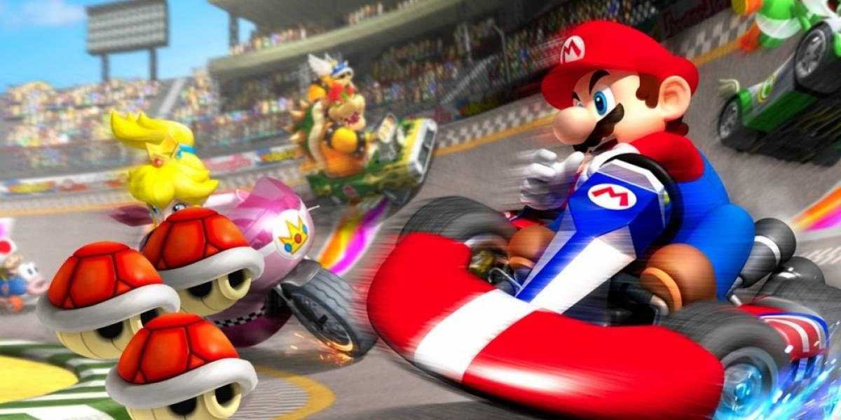 ¿Cómo sería un fusión entre Rocket League y Mario Kart?