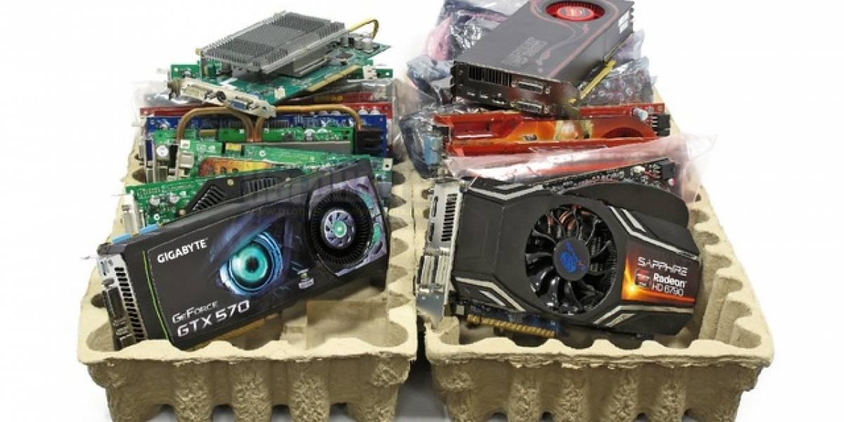 80 tarjetas de video AMD y Nvidia a prueba