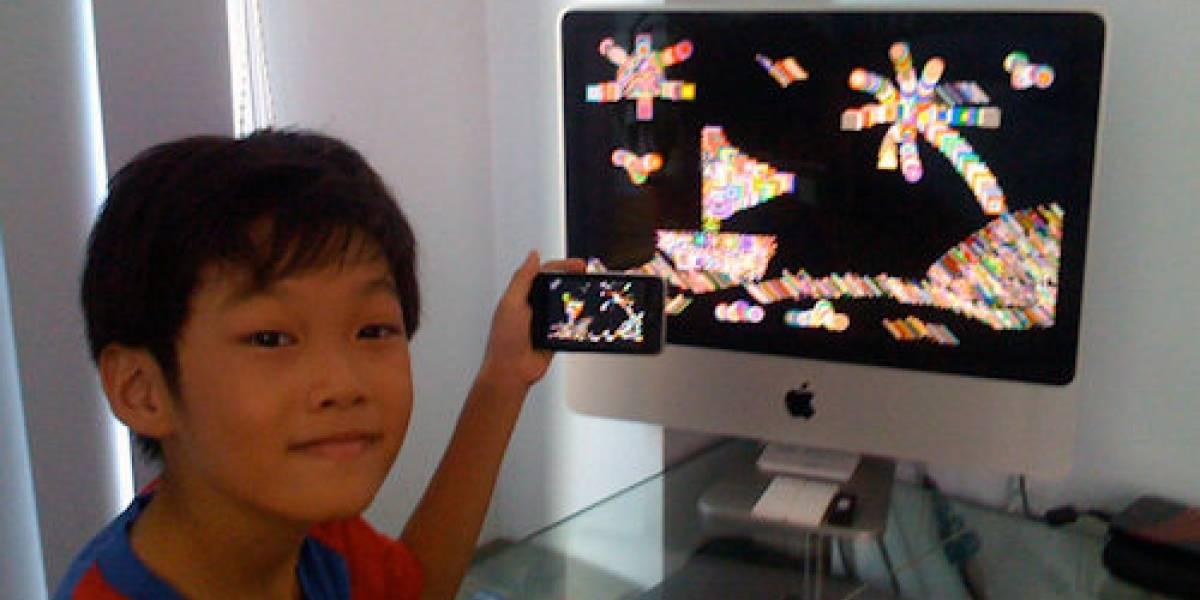 Prodigio de 9 años programa una aplicación para iPhone