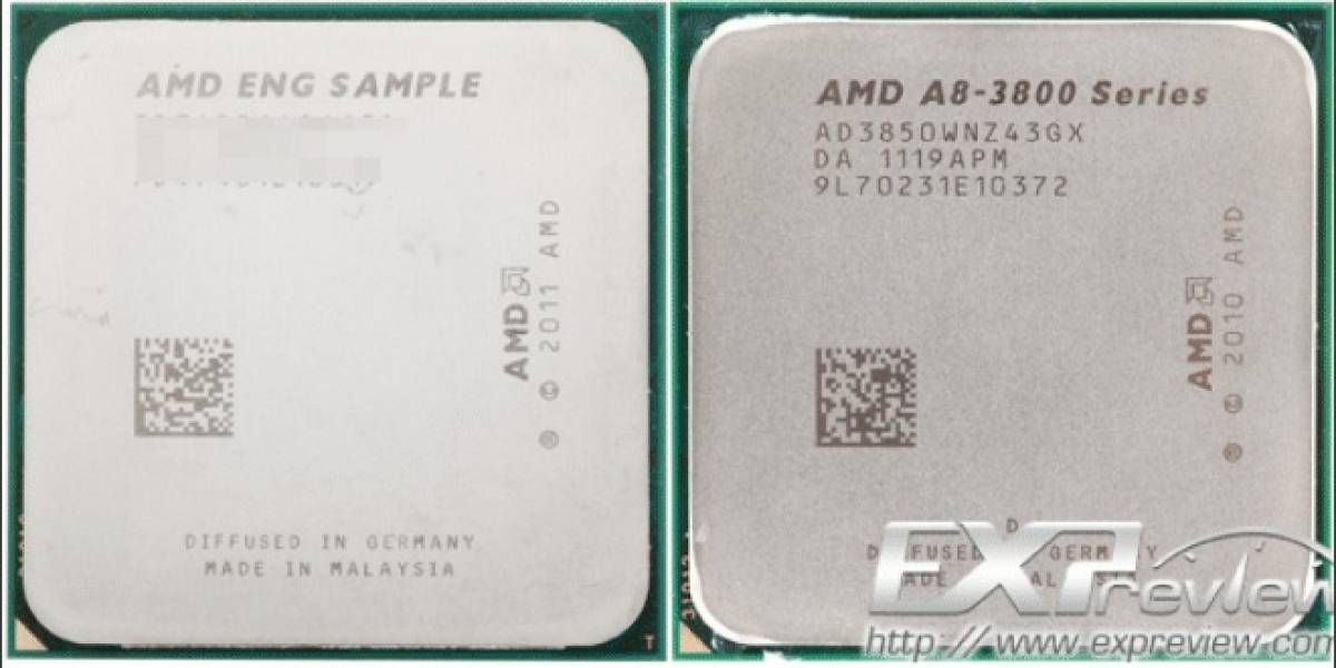 """APU AMD A10-5700 """"Trinity"""" vs A8-3850 """"Llano"""""""