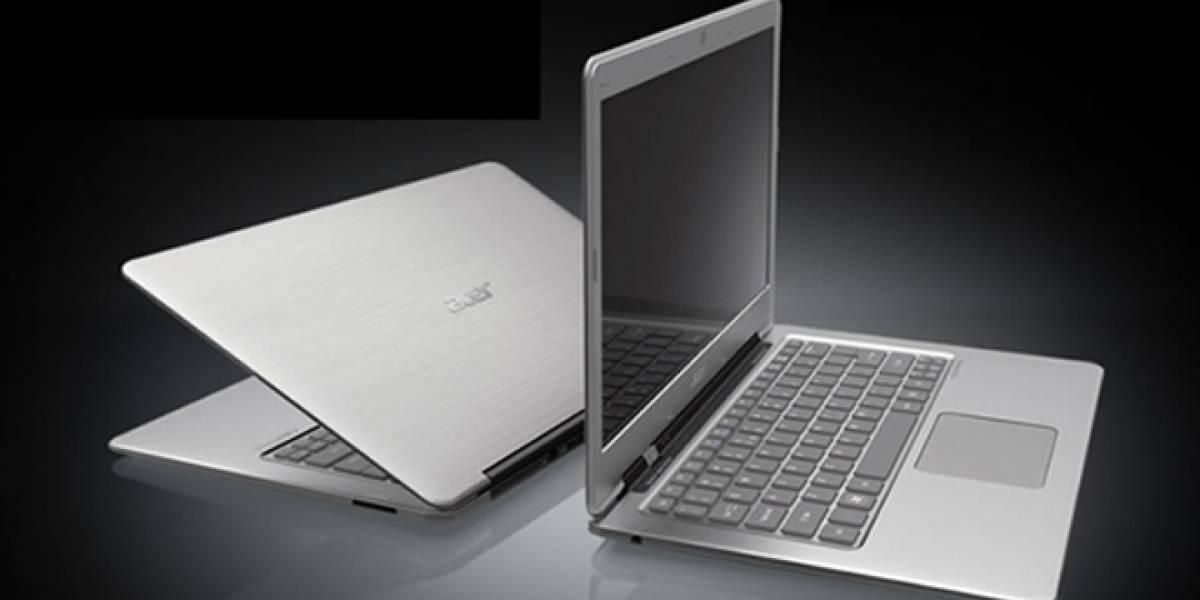 Hasta un 35% de los portátiles Acer serán Ultrabooks en 2012