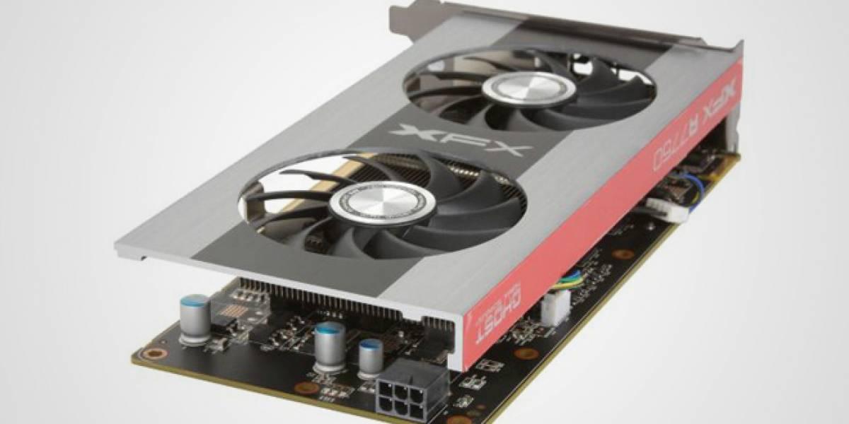 AMD lanza Radeon HD 7750 a 900MHz