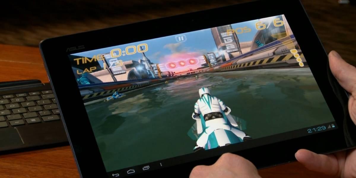 NVIDIA hace una demostración de Tegra 3 en un tablet