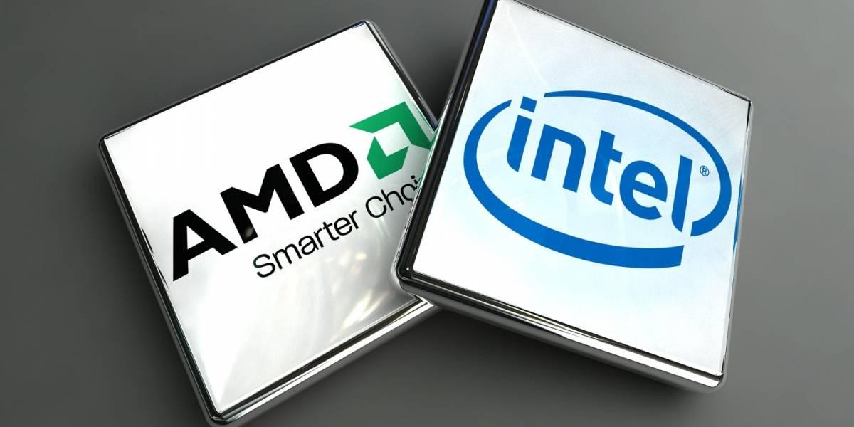 AMD le roba una interesante cuota de mercado a Intel en los últimos meses