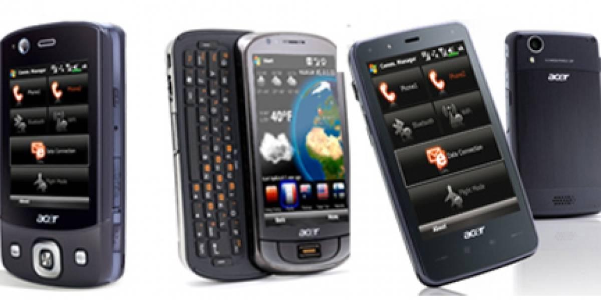 Acer quiere que sus smartphones se regalen