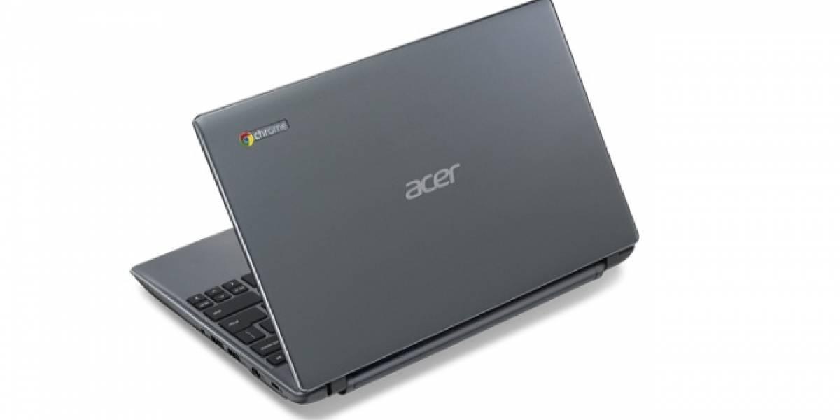 Acer anuncia su nuevo Chromebook mejorado, después se desdice