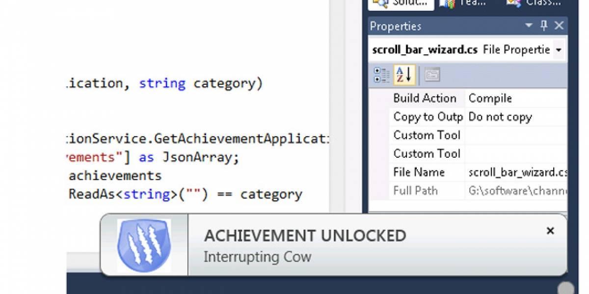 Microsoft implementa juego de logros estilo Xbox para desarrolladores