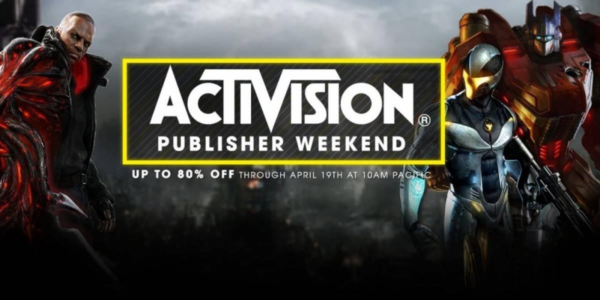 Activision tiene venta especial en Steam