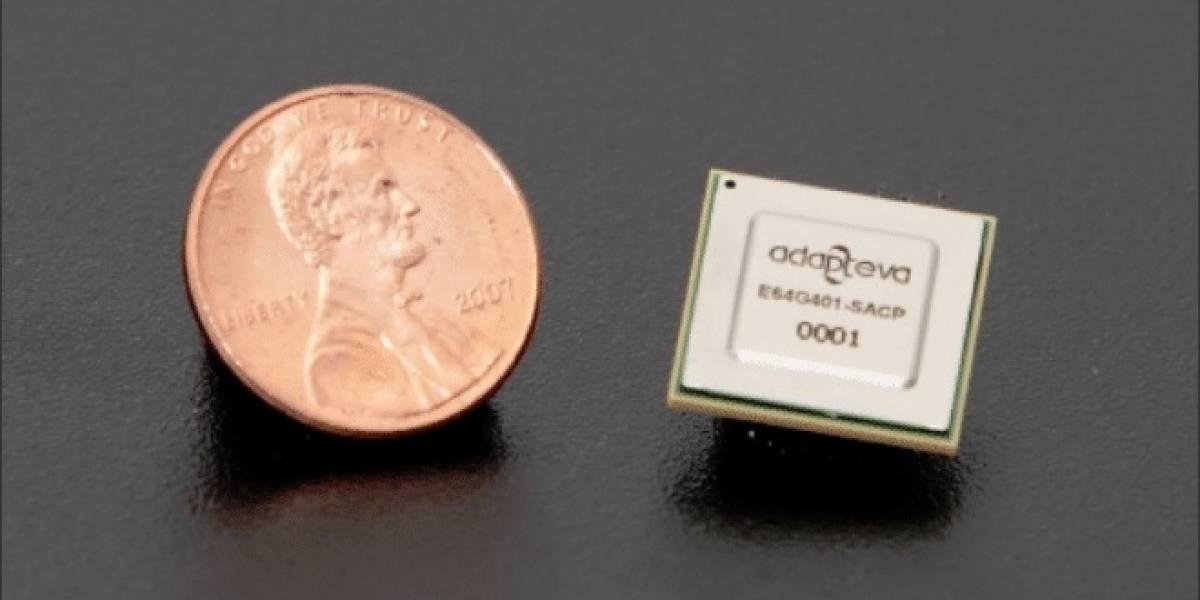 Adapteva revela su microprocesador con 64 núcleos: Epiphany-IV