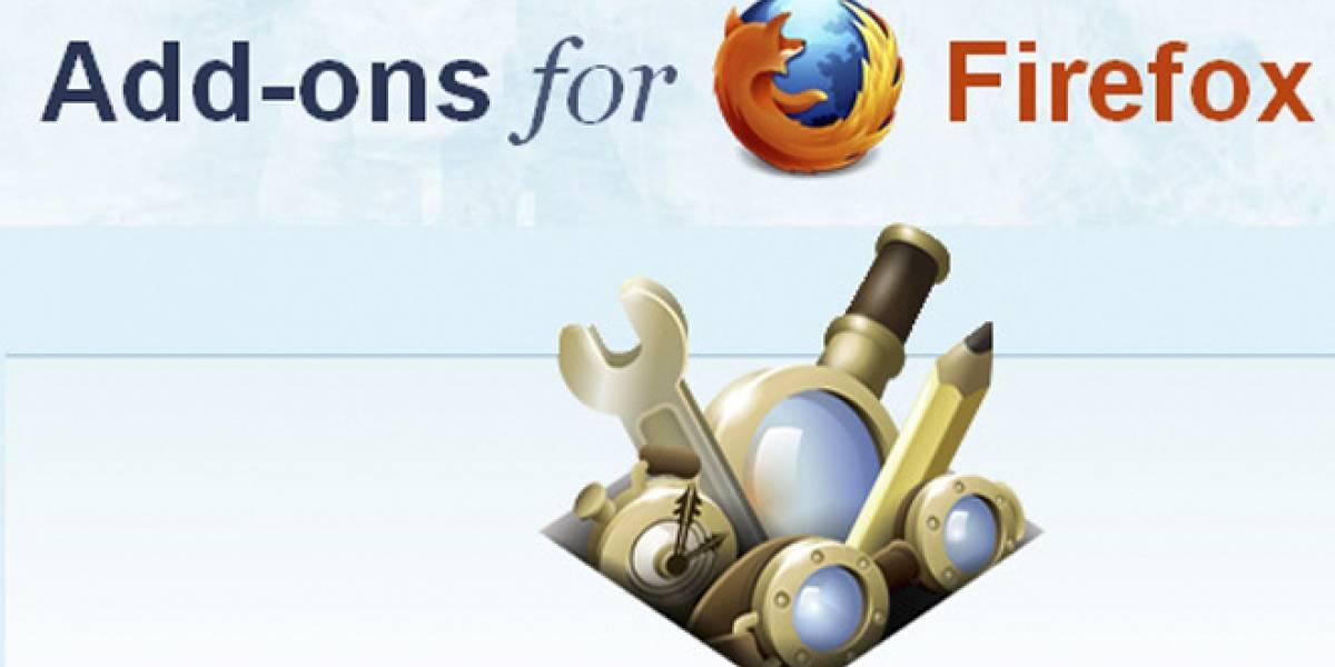 Las ocho extensiones de Firefox más descargadas