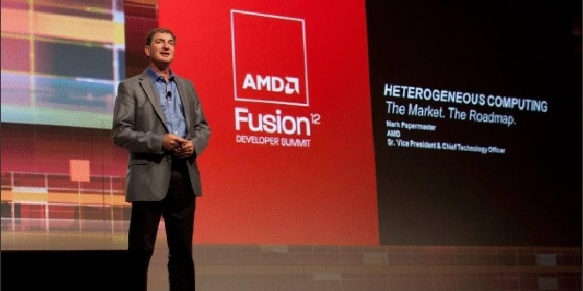 AMD roadmap 2013 de productos para portátiles y servidores