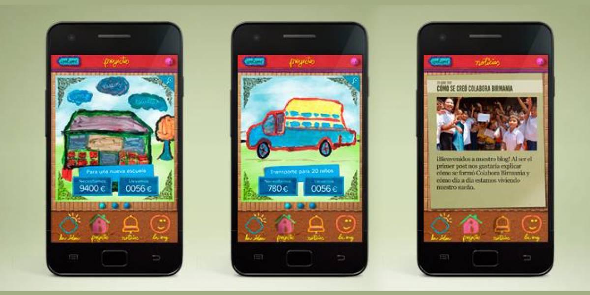 'Ahora te toca a ti': Una app con dibujos de niños que nunca han visto un móvil inteligente