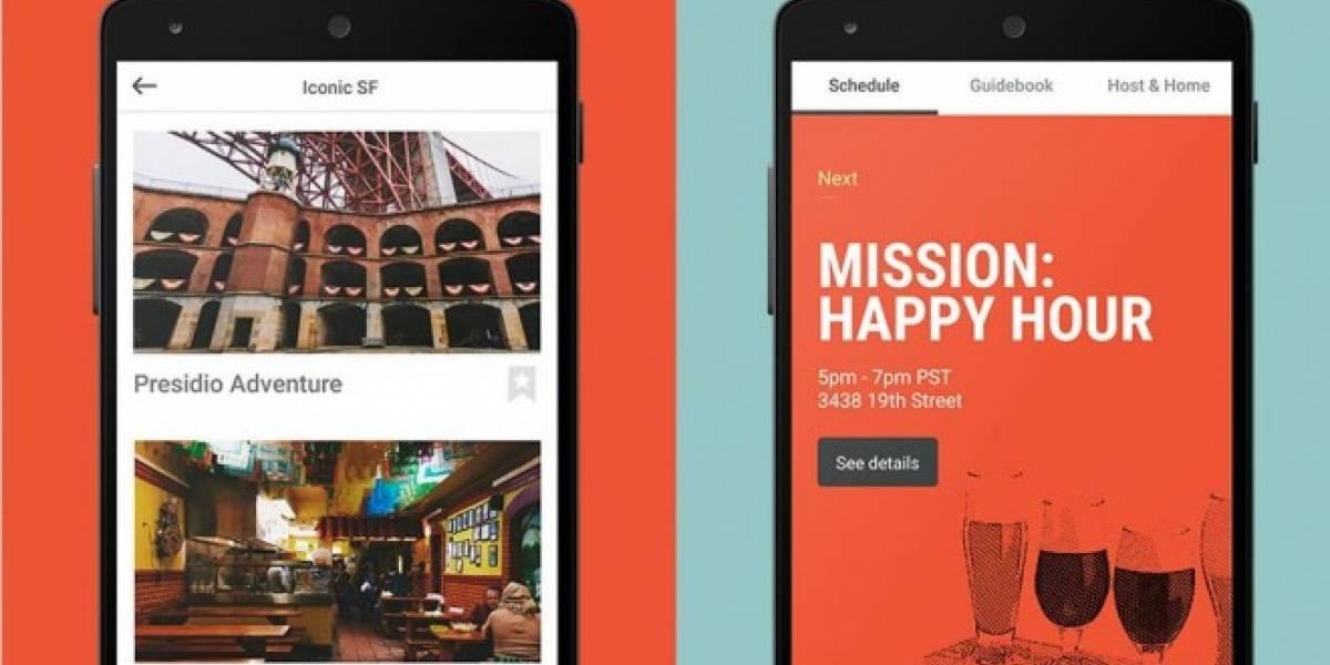 Airbnb elimina nueva app experimental de viajes tras ser descubierta