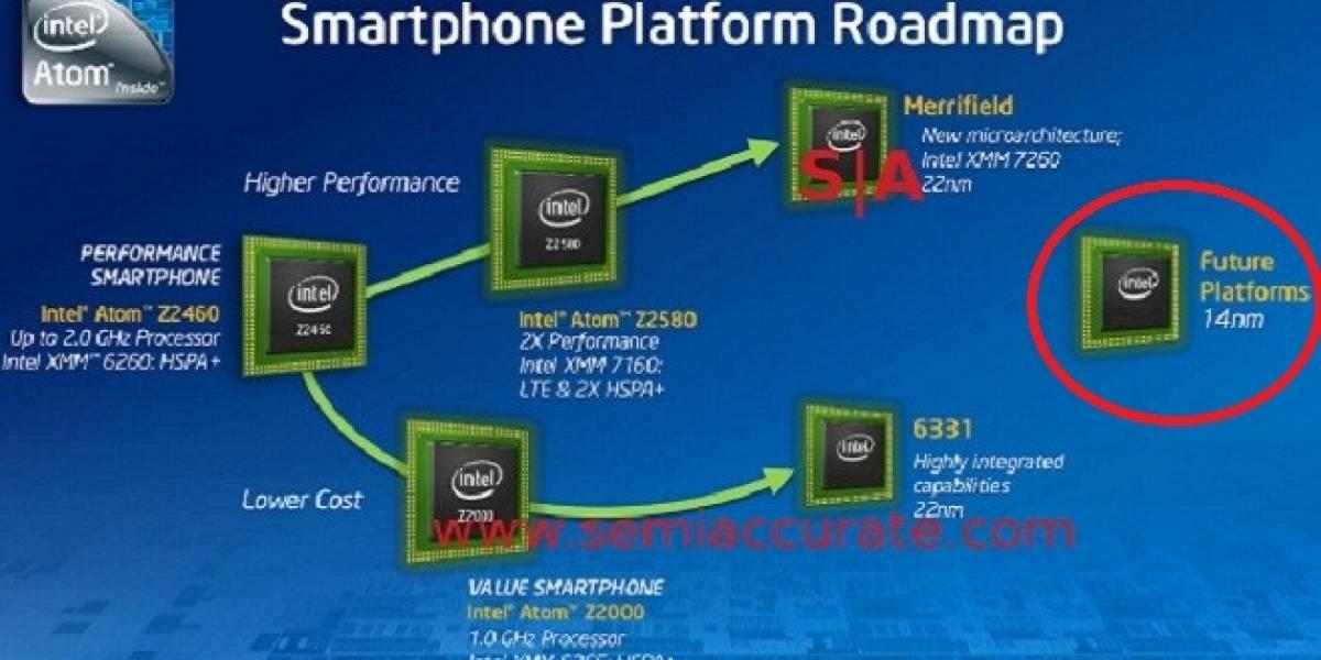 """SoCs Intel Atom """"Airmont"""" serán lanzados el próximo año"""