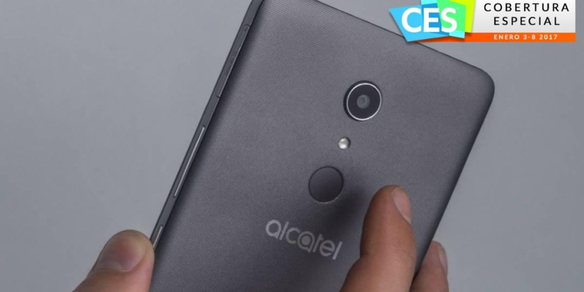 Alcatel A3 XL lleva el lector de huellas dactilares a la gama baja #CES2017