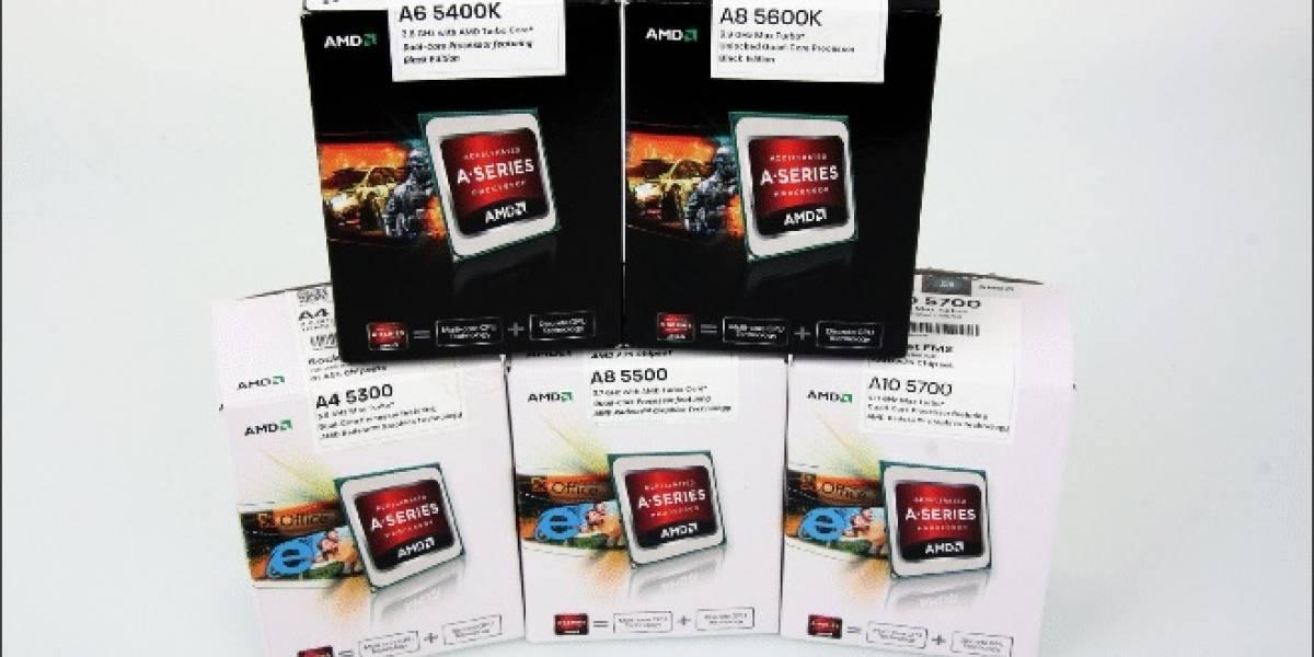 Rendimiento CPU/GPU de seis APUs AMD Trinity