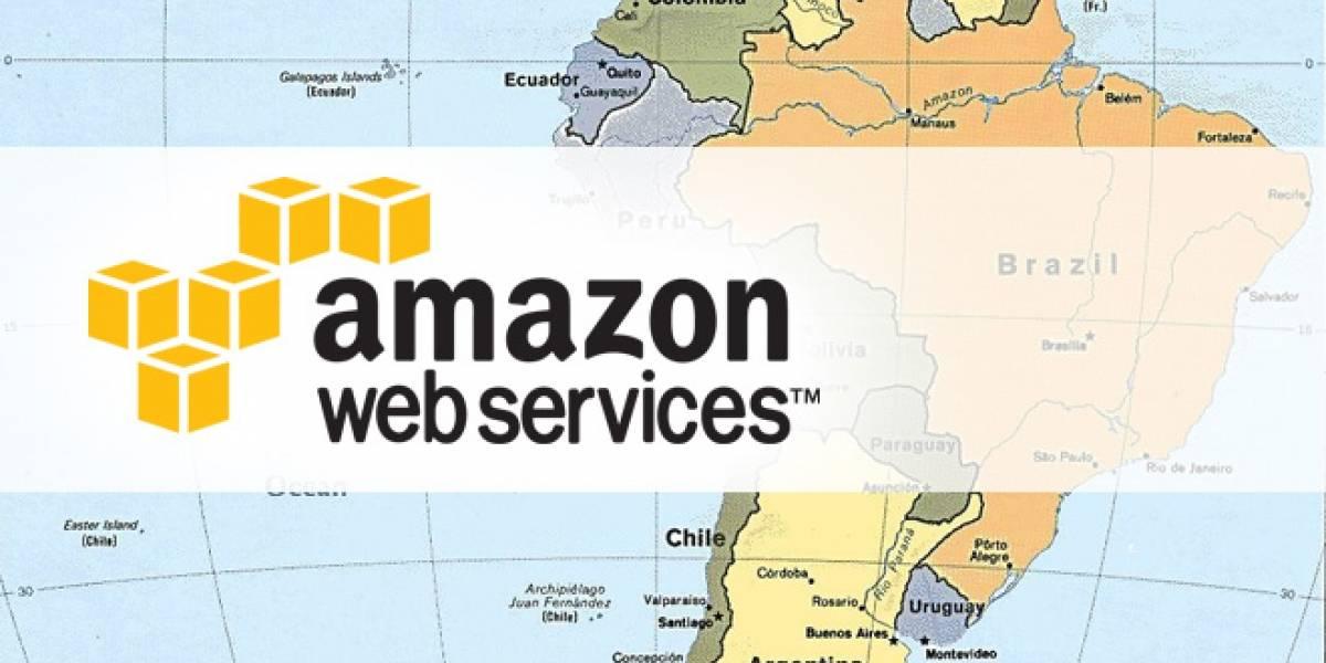 Amazon sitúa su nube sobre Latinoamérica