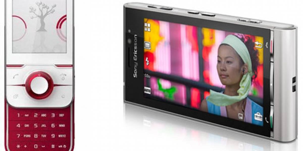 Sony Ericsson se luce con Yari y Satio
