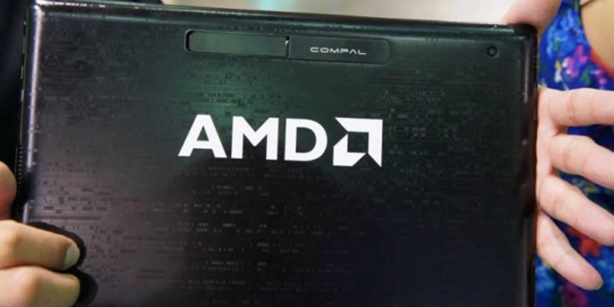 AMD promete mejores equipos con Windows 8 que los de Intel