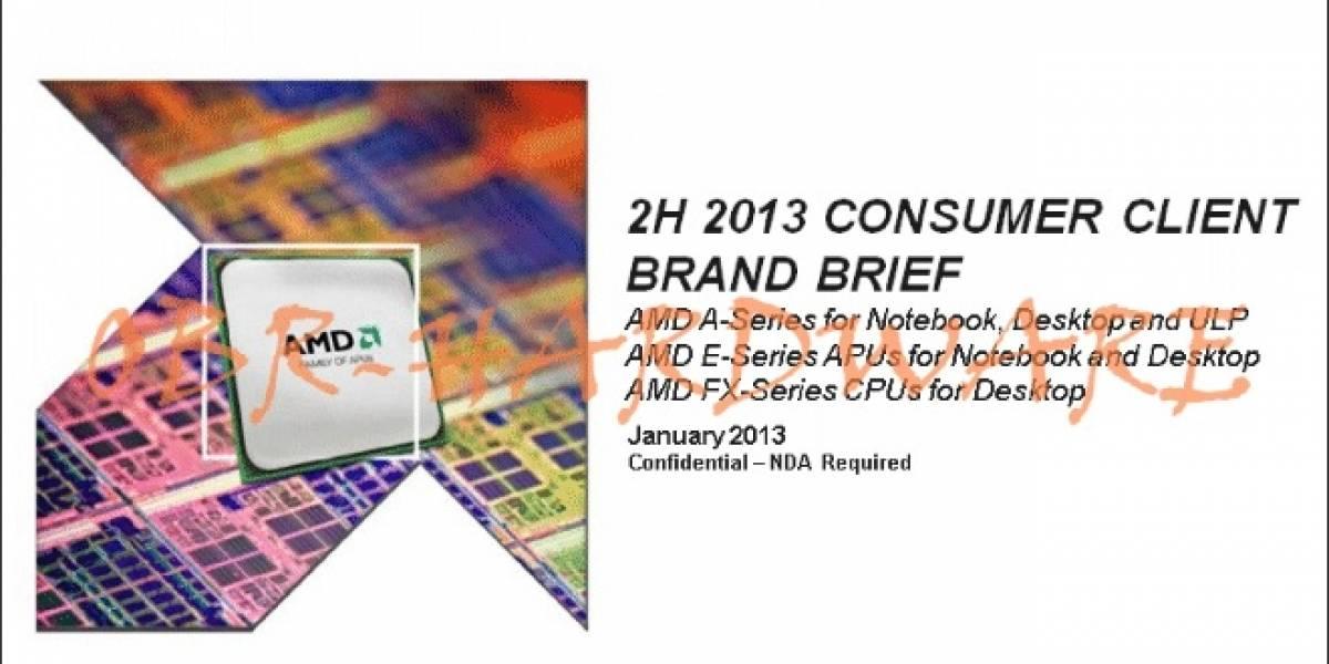 ¿Primeros benchmarks de los APU AMD Richland?
