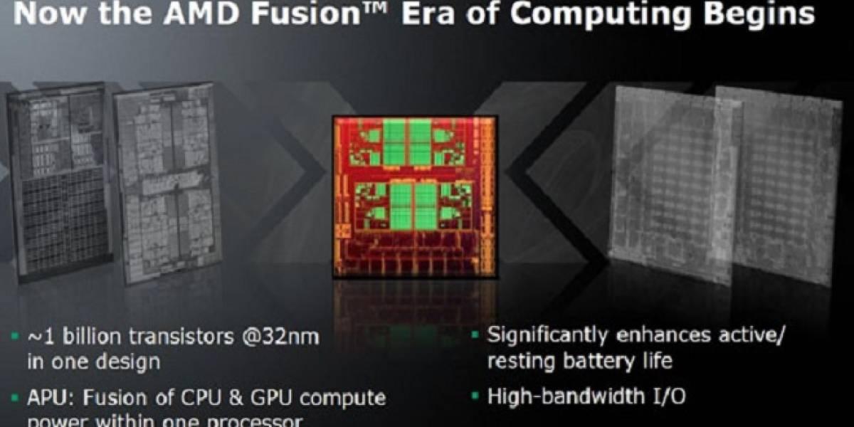 APUs Fusion representan el 72.5% del volumen de ventas de CPUs AMD