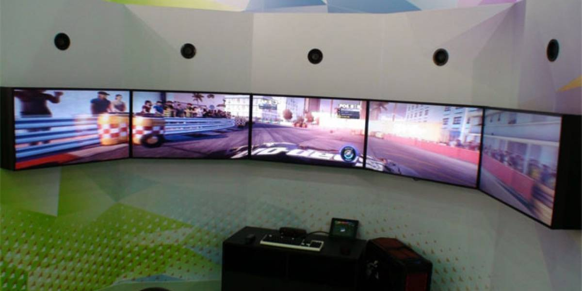 CTX2012: DiRT Showdown con AMD Eyefinity en una sola HD 7970