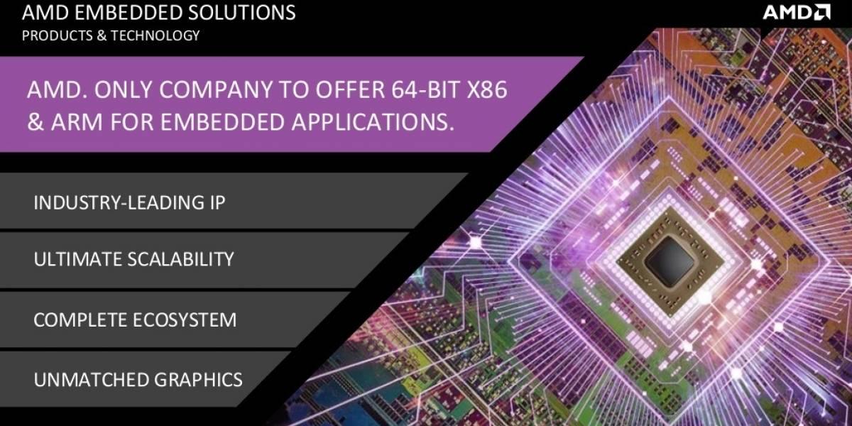 AMD revela sus productos industriales (embedded) para el 2014