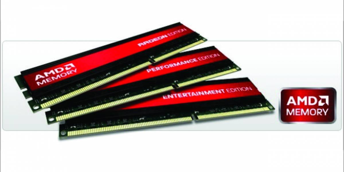 AMD Memory Entertainment Edition ya disponibles