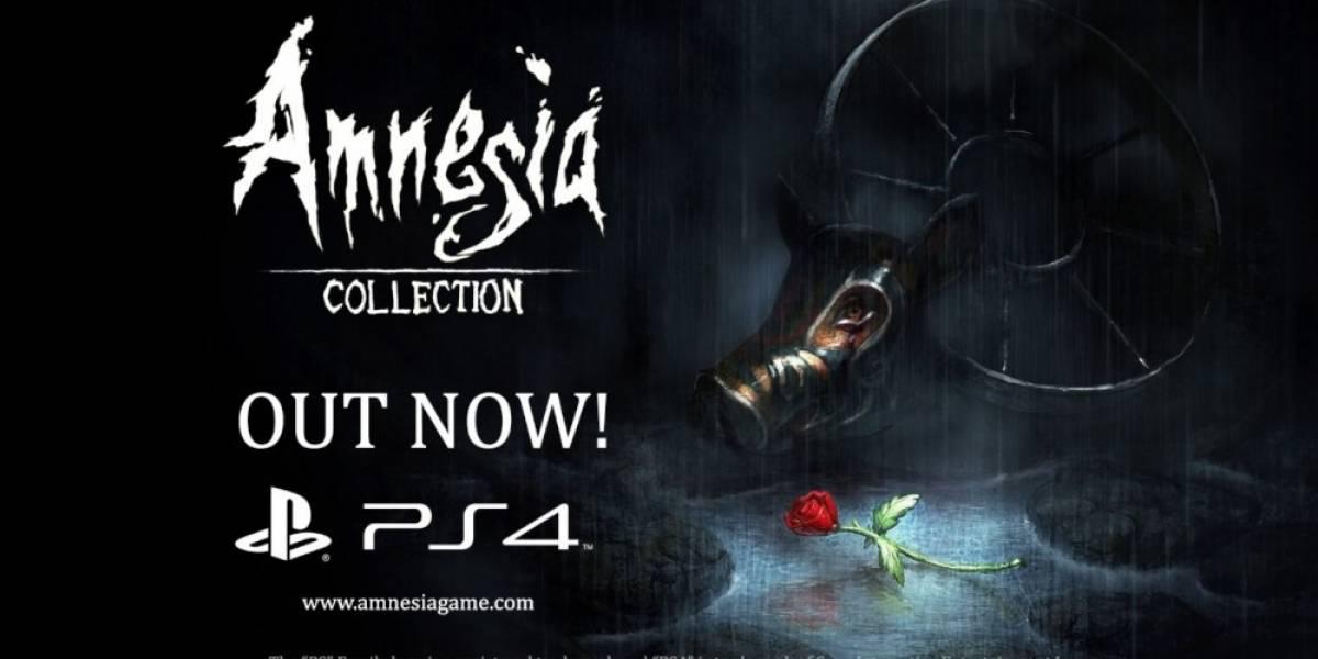 Amnesia: Collection ya está disponible en PS4