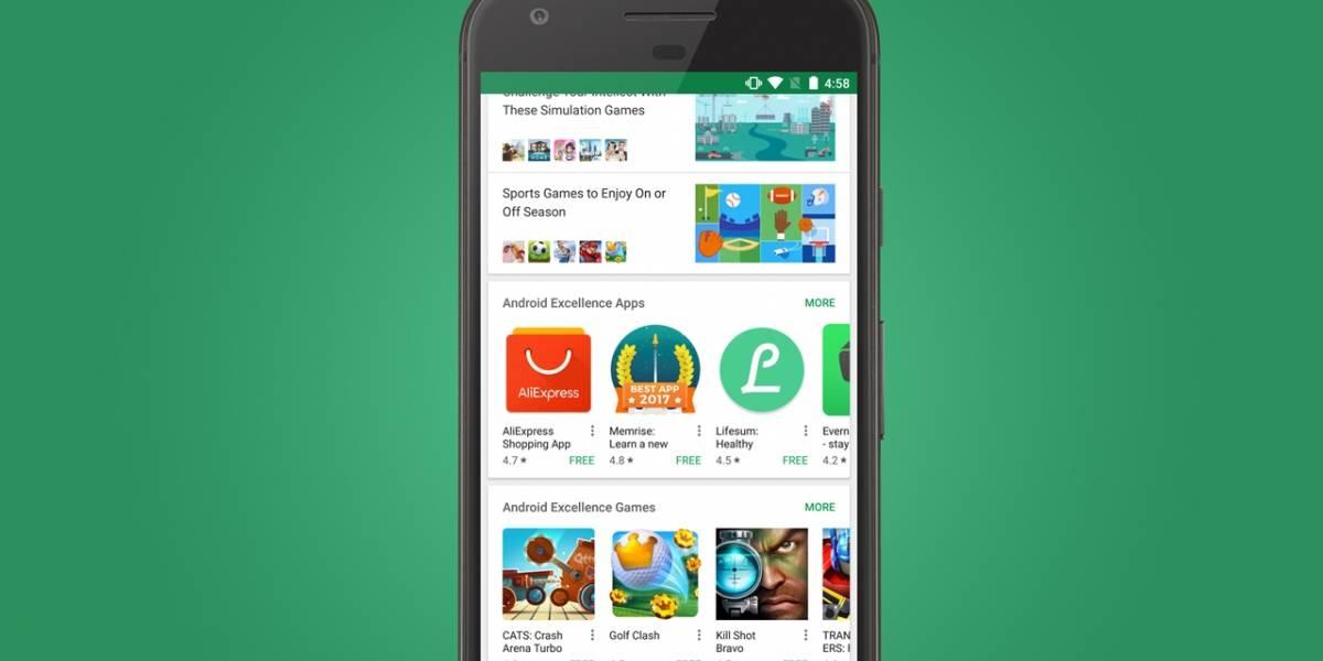Google Play Store reúne sus mejores apps en la nueva sección Android Excellence