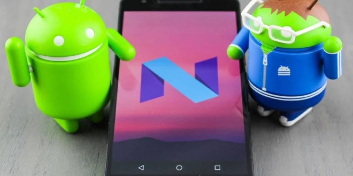 Android N volverá a cambiar el diseño de su barra de navegación