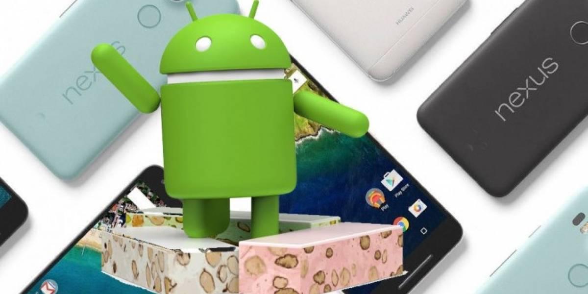 Android Nougat vendría con funciones exclusivas para la línea Nexus