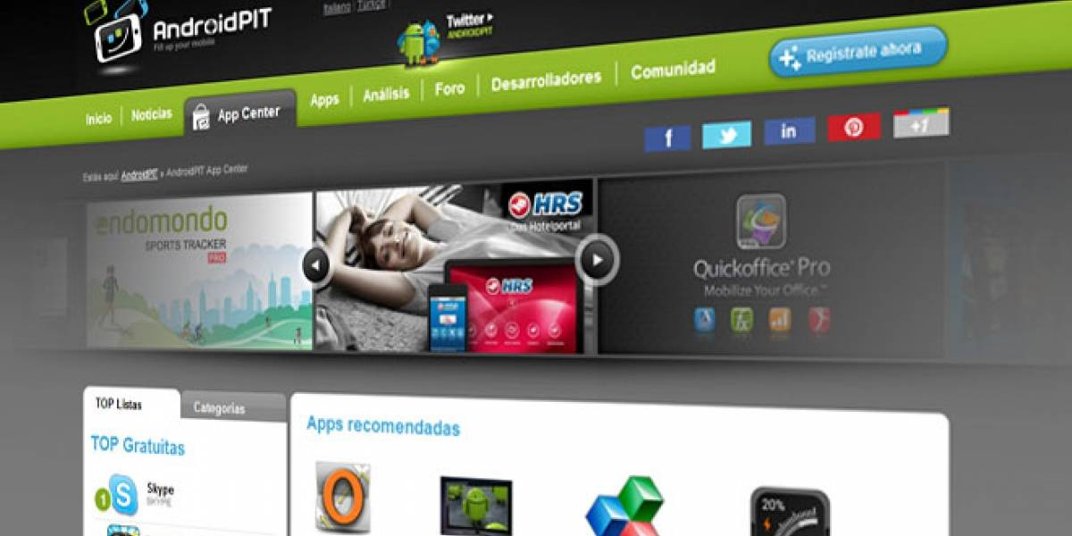 ¿Buscando aplicaciones para darle vida a tu Android? Visita el AppCenter de AndroidPIT y encuentra tu mejor opción