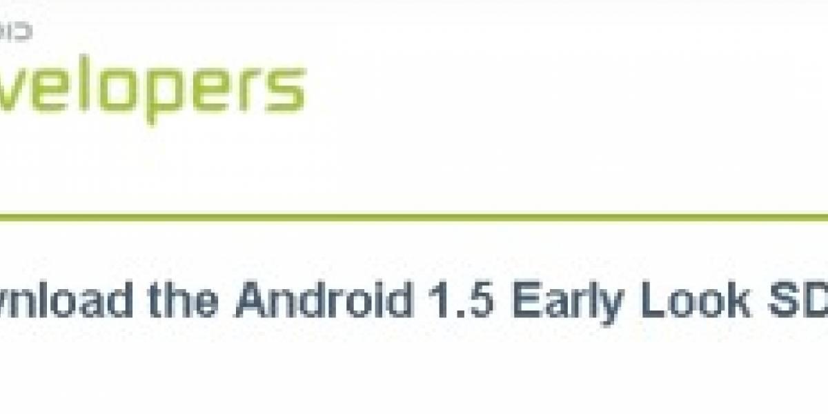 Android 1.5 listo para salir del horno