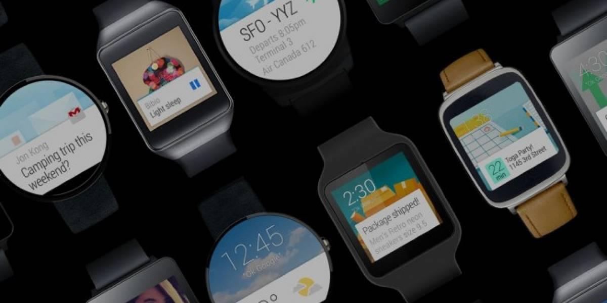 Google lanzaría dos smartwatches Nexus con Android Wear