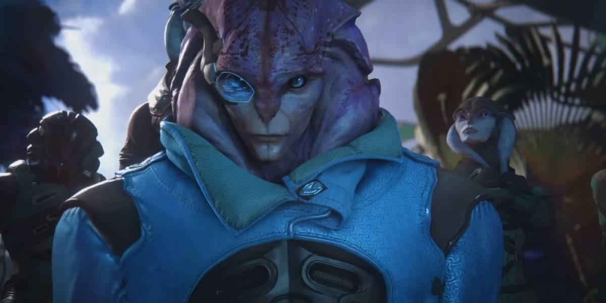El nuevo tráiler de Mass Effect: Andromeda muestra a la raza alienígena Angara