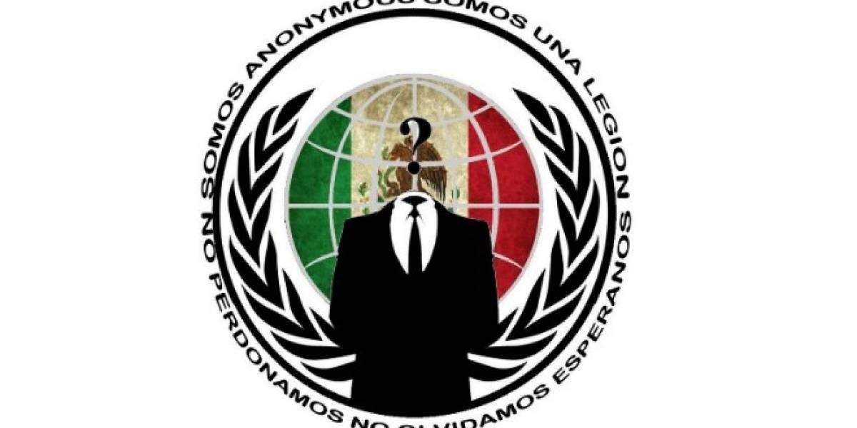 Anonymous México comienza ataques cibernéticos a varias páginas empresariales