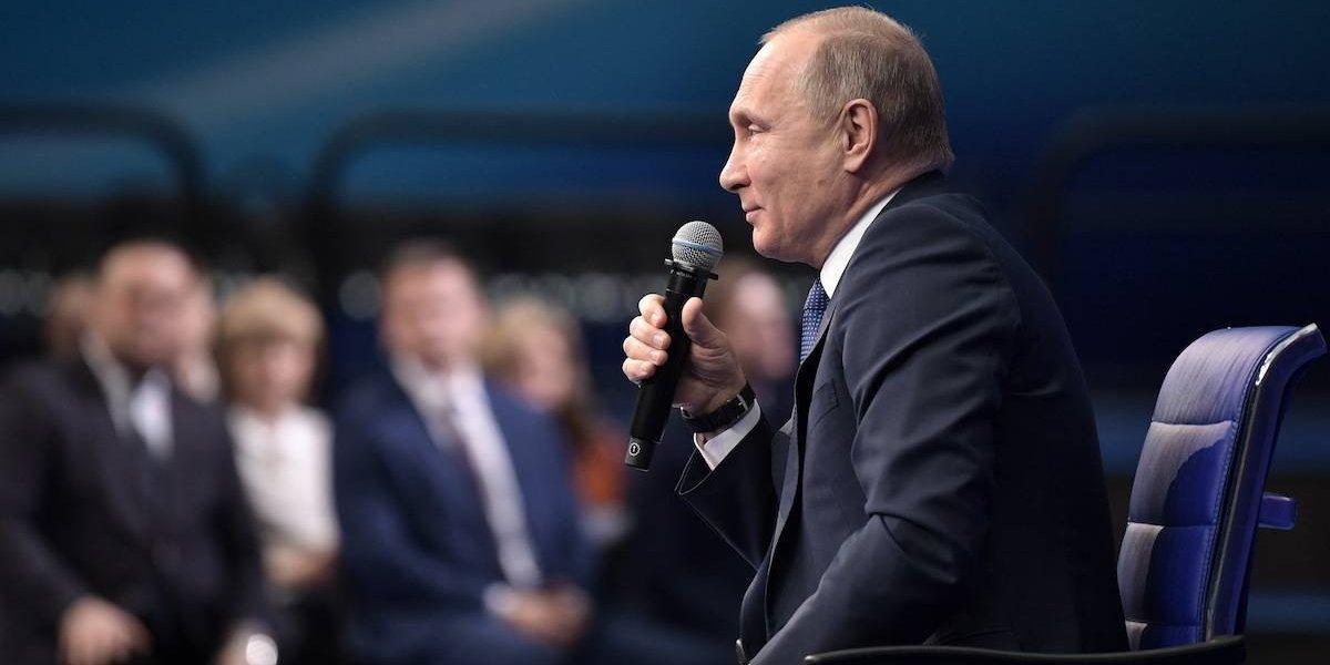 Putin admite dopaje en Rusia y tacha de 'imbécil' al culpable