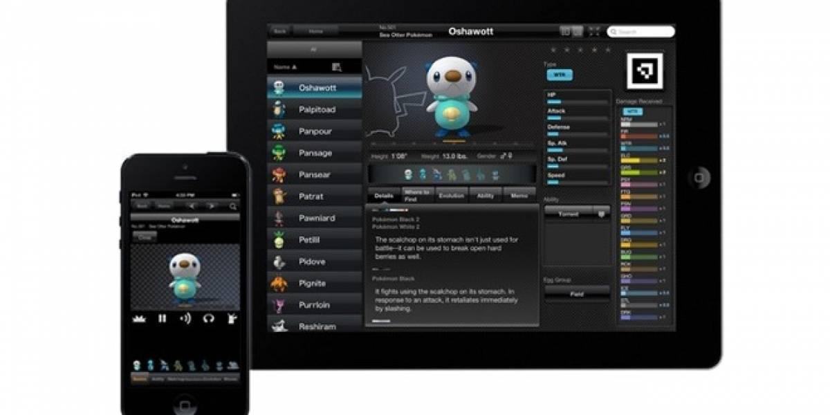 Nintendo lanza aplicación 'Pokédex' para iOS
