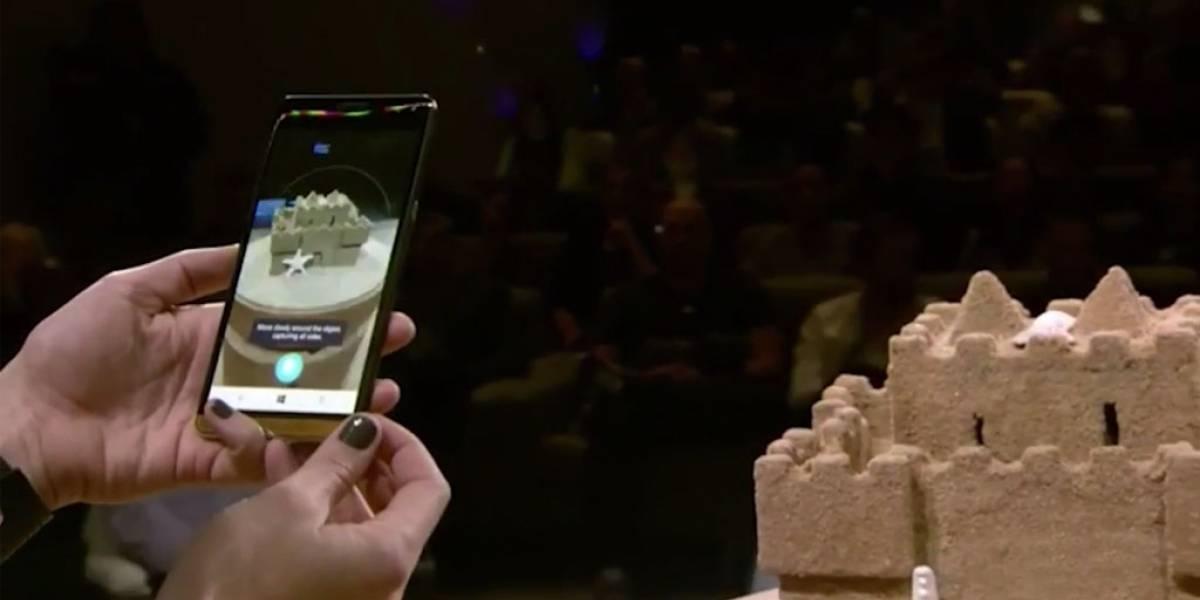 Microsoft mostró una app para escanear objetos en 3D pero no la nombró