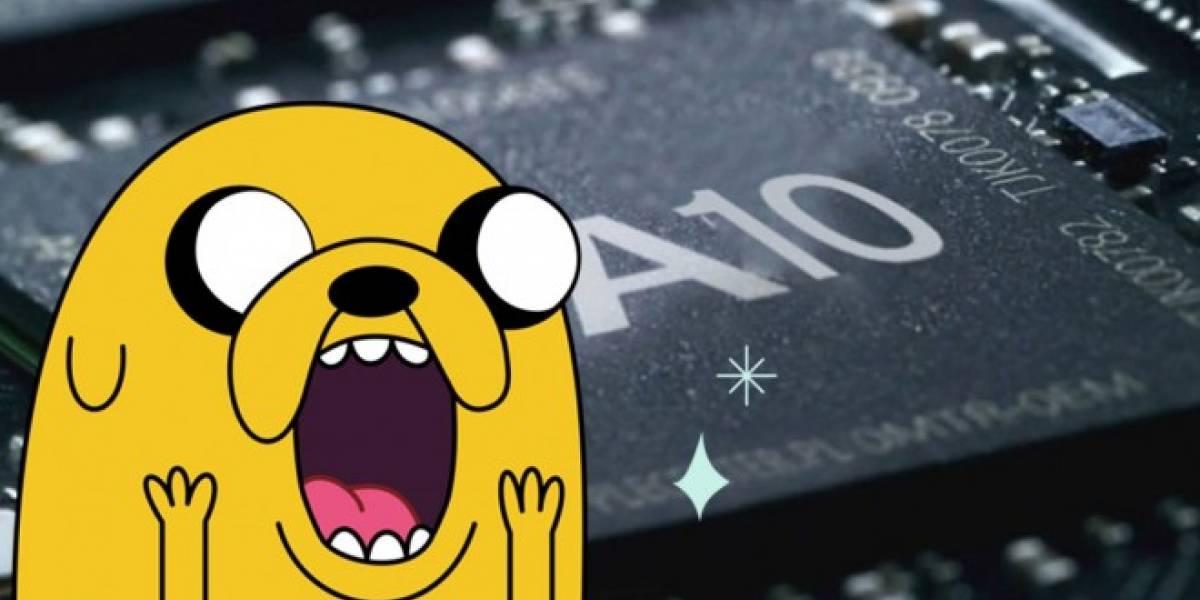 Se filtra la primera foto del nuevo procesador A10 para el iPhone 7