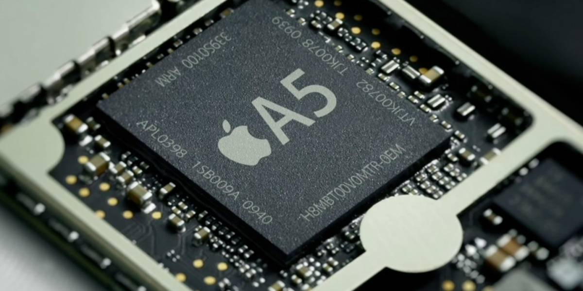Apple A5 dentro del iPhone 4S corre a 800MHz