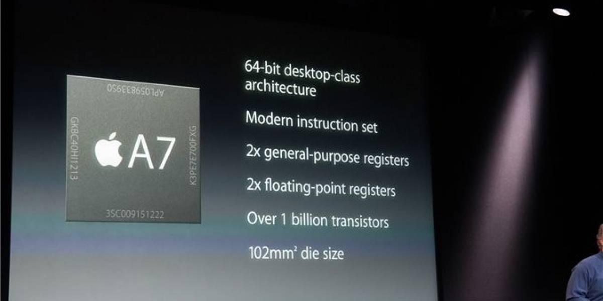 Apple A7: El primer SoC de 64 bits para Smartphones