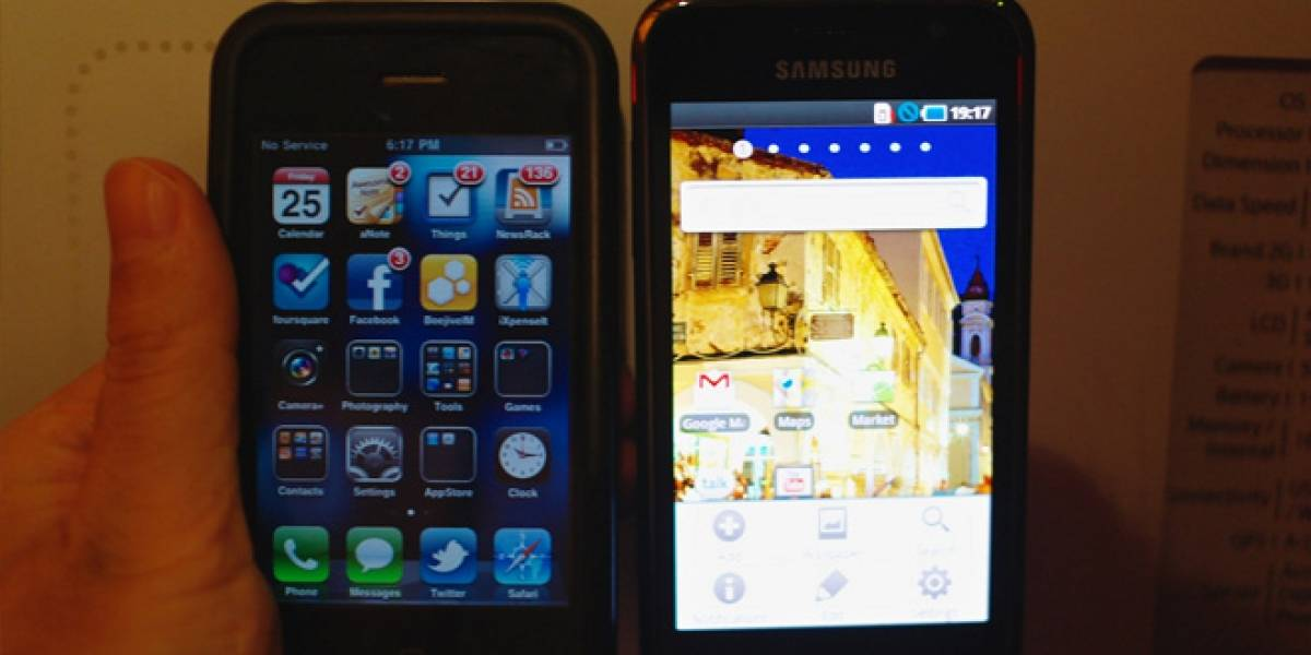 """Samsung: """"No es razonable que estemos peleando por rectángulos"""""""