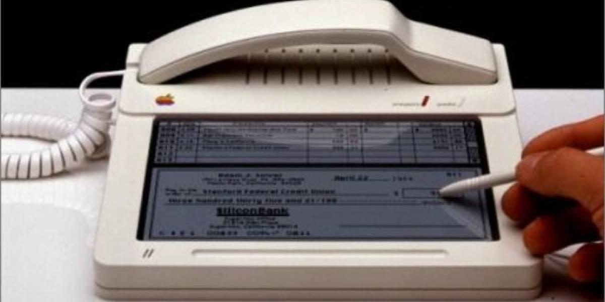 Prototipo de teléfono Apple con pantalla táctil de 1983